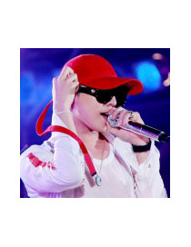 Fashion Red Letter Decorated Pure Color Design Baseball Cap
