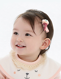 Lovely Beige Ice Cream Shape Decorated Simple Hair Band