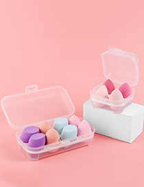 Fashion 4 Cells Beauty Egg Plastic Egg Container