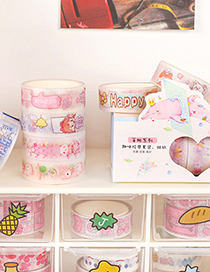 Fashion Tape Boxed-beer Duck Diy Hand Account With Tearable Tape