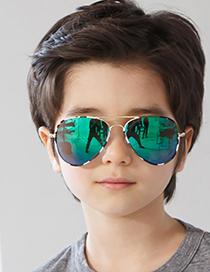 Fashion Green Camouflage/green Mercury Childrens Camouflage Sunglasses
