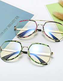 Fashion Red Camouflage/anti-blue Light Childrens Eye Protection Blue Light Glasses