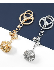 Fashion Silver Alloy Bell Pendant
