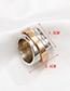 Fashion Silver Alloy Geometric Ring