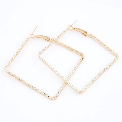 Claddagh Gold Square Shape Design
