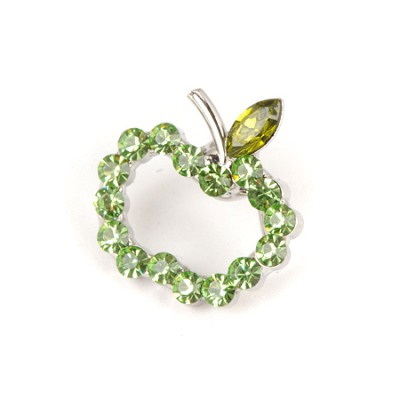 Classical Green Hollow Apple Shape Design