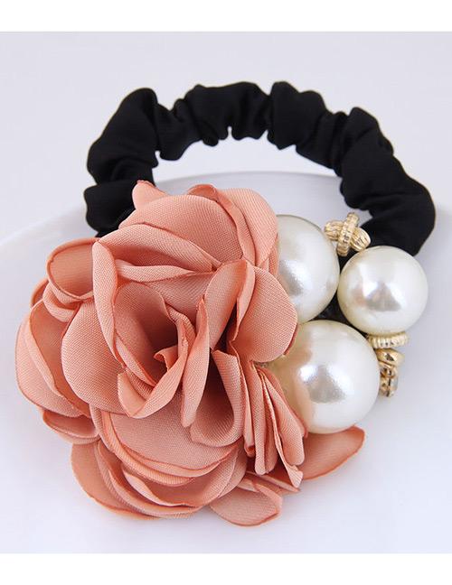 Fashion Orange+white Flower Shape Decorated Hair Band