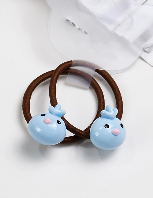 Lovely Blue Bird Shape Decorated Baby's Hair Band(2pcs)