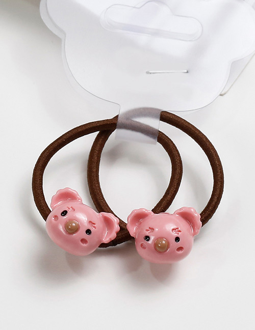 Lovely Pink Cat Shape Design Baby's Hair Band(2pcs)