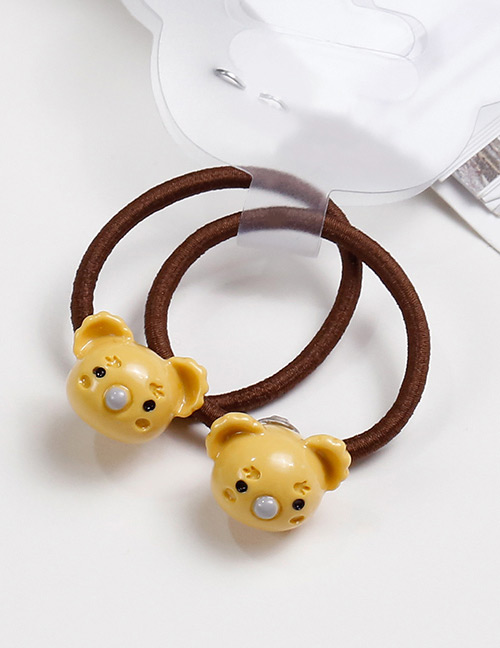 Lovely Yellow Cat Shape Design Baby's Hair Band(2pcs)
