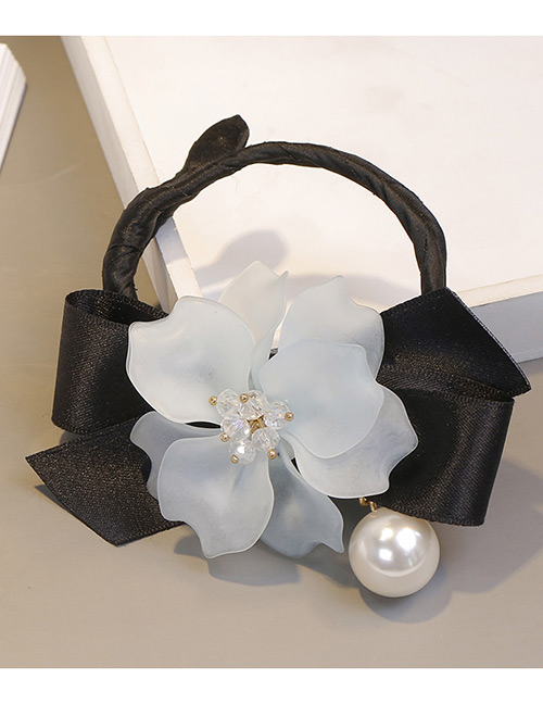 Sweet Blue Bowknot&flower Decorated Hair Accessories