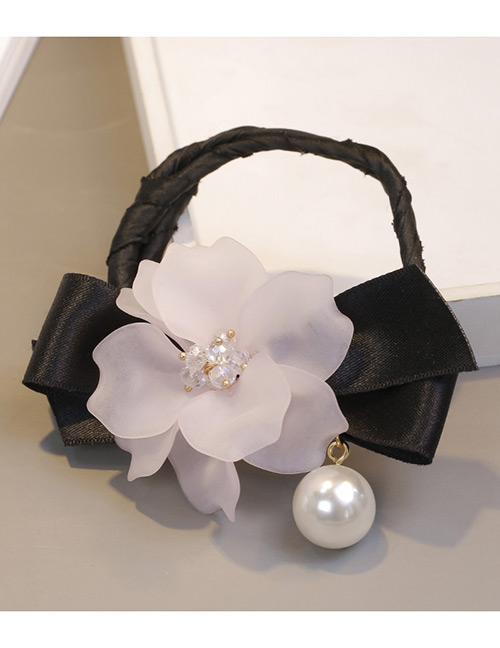 Sweet Pink Bowknot&flower Decorated Hair Accessories