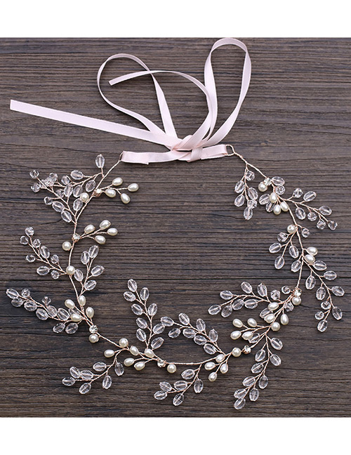Fashion Rose Gold Full Diamond Decorated Hair Accessories