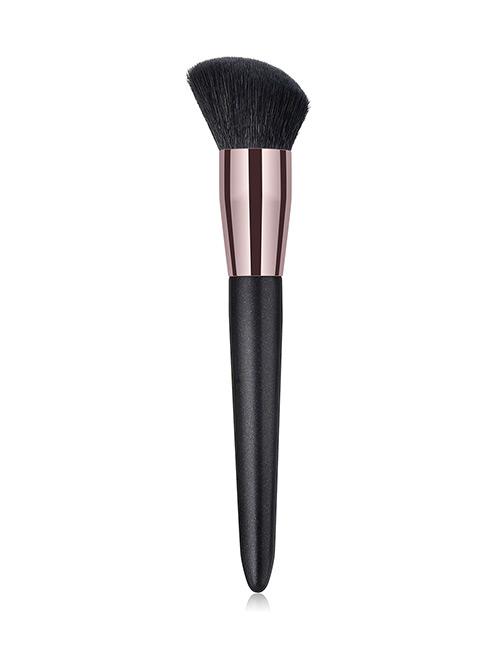 Fashion Black Round Shape Decorated Makeup Brush