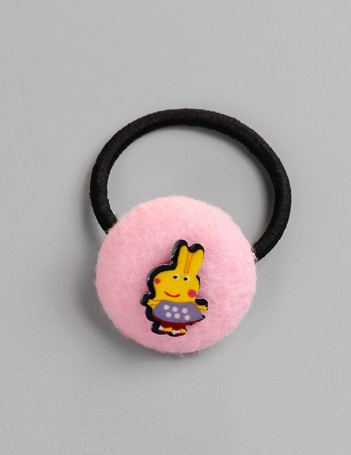 Fashion Pink Pig Pattern Decorated Hair Band