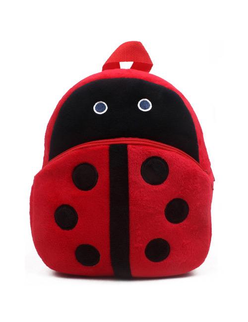 Fashion Red Ladybug Shape Decorated Bag