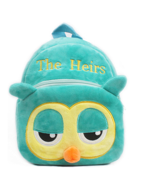 Fashion Green Owl Shape Decorated Bag