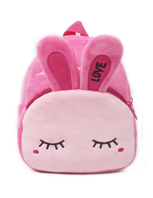 Fashion Pink Rabbit Shape Decorated Bag