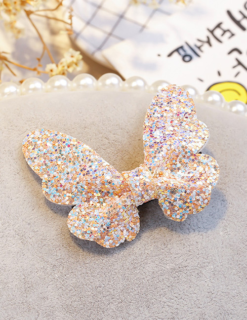 Fashion Multi-color Butterfly Shape Decorated Hair Clip