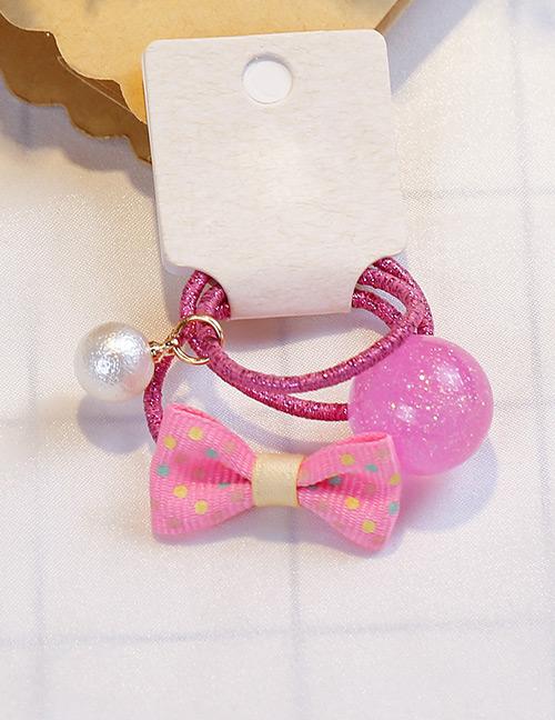 Fashion Multi-color Bowknot Shape Decorated Hair Band (3 Pcs)