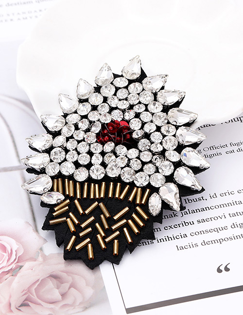 Fashion White Diamond Decorated Patch