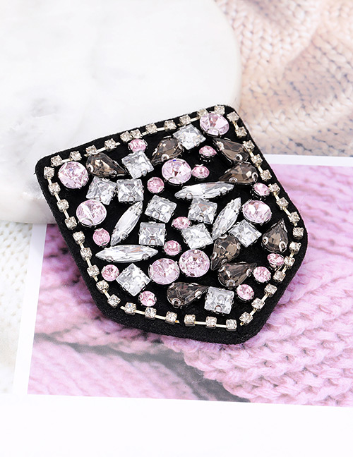 Fashion Multi-color Diamond Decorated Patch