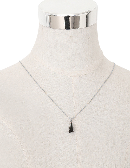 Fashion Silver Color Geometric Shape Decorated Body Chain