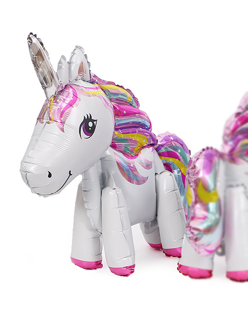 Fashion Multi-color Unicorn Shape Decorated Balloon