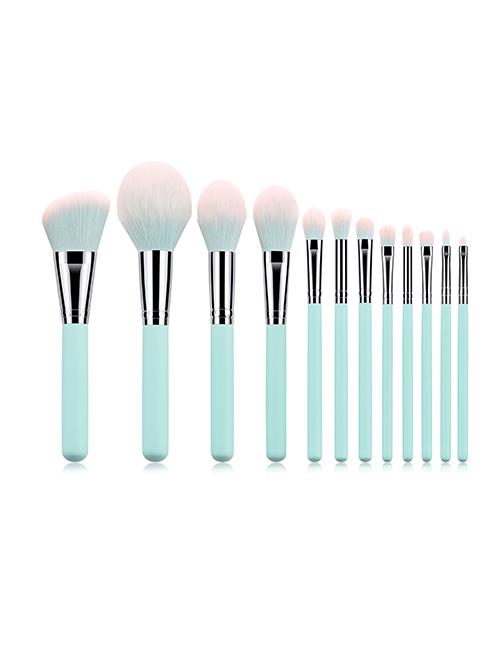 Fashion Light Blue 12 Sticks - Makeup Brush