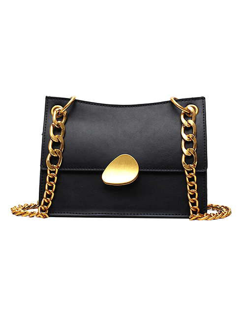Fashion Black Small Shoulder Messenger Bag