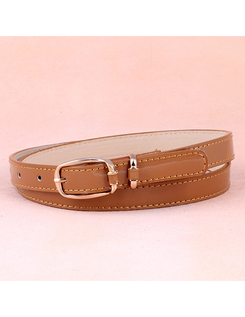 Fashion Camel Japanese Word Buckle Belt