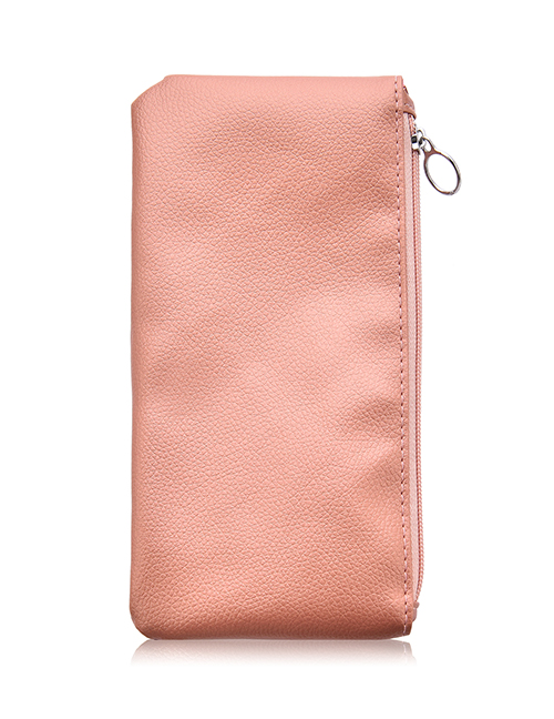 Fashion Pink Leather Bag