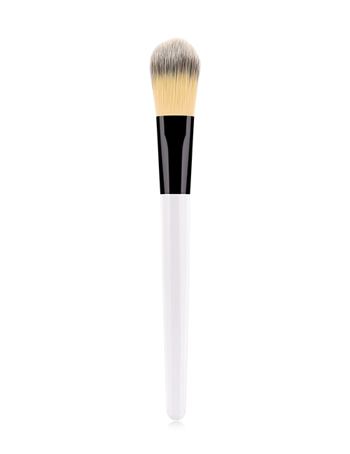 Fashion White Single Foundation Brush