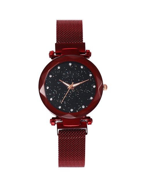 Fashion Red Tape Star Watch  Electronic Element