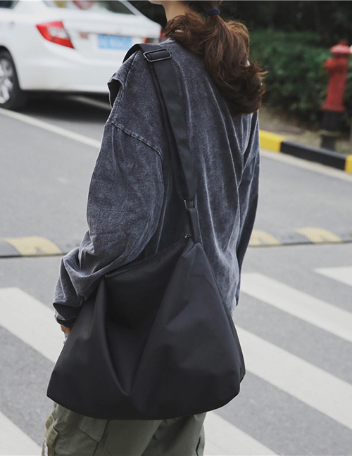 Fashion Black Shoulder Messenger Bag