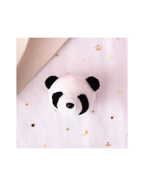Fashion Panda Panda Plush Embroidery Brooch