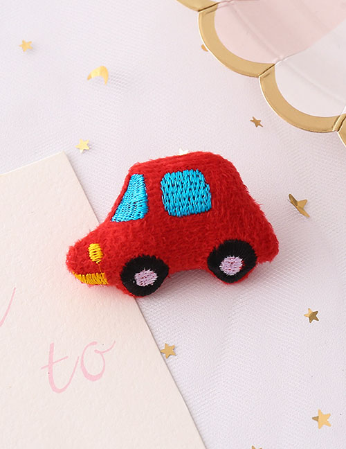 Fashion Car Car Plush Embroidery Brooch