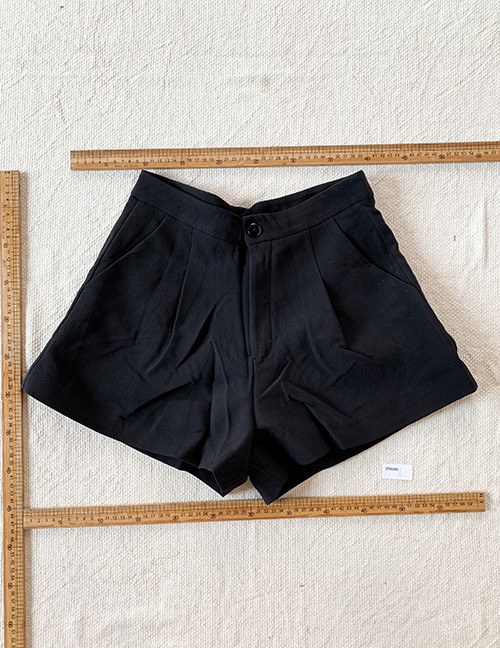 Fashion Black Black Shorts