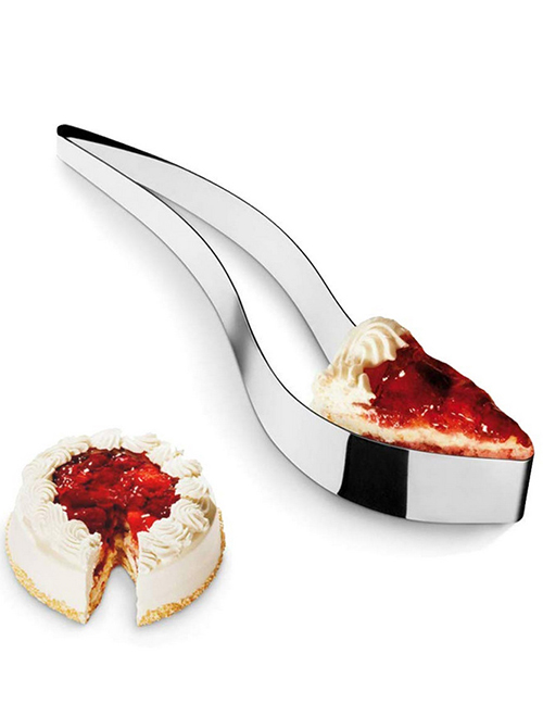 Fashion Silver Stainless Steel Cake Cutter