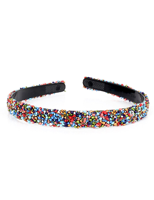 Fashion Color Resin Diamond-studded Headband