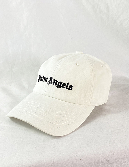 Fashion Off-white Baseball Cap With Embroidered Letters