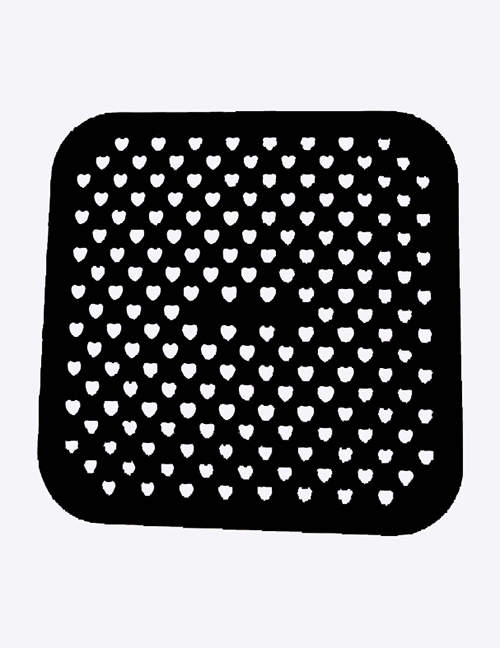 Fashion Black Air Fryer Silicone Pad