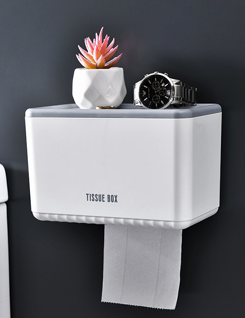 Fashion Random Color Toilet Punch-free Tissue Box