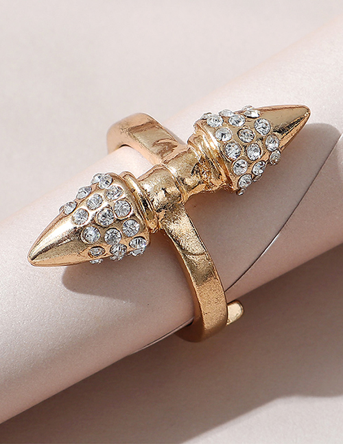 Fashion Kc Gold Double Taper Ring