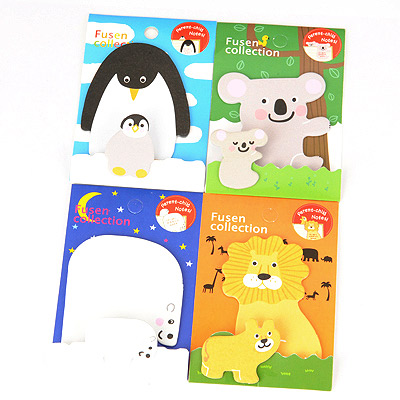 Faddish Color Will Be Random Animal Parent-Child Design Paper Stickers Tape