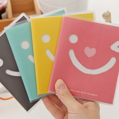 Bendable Color Will Be Random Smile Face Design Paper Notebook Agenda