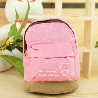 Cheap Pink Mini Bookbag Design Canvas Other Creative Stationery