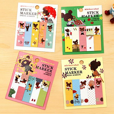 Celebrity Color Will Be Random Cartoon Illustration Style Paper Stickers Tape