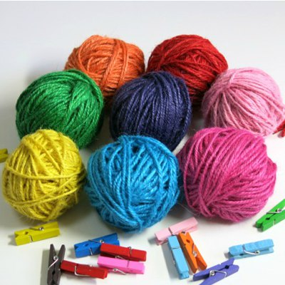 2013 Color Will Be Random Multicolor Design Hemp Rope Household goods