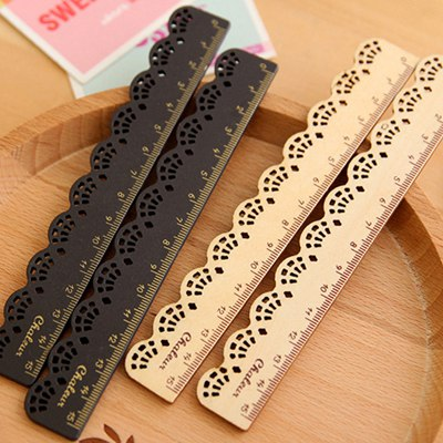 Hipster Color Will Be Random Lace Pattern Design Wooden Other Creative Stationery
